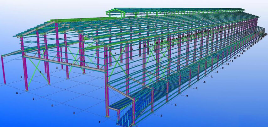 Steel Structure Factory Workshop Design