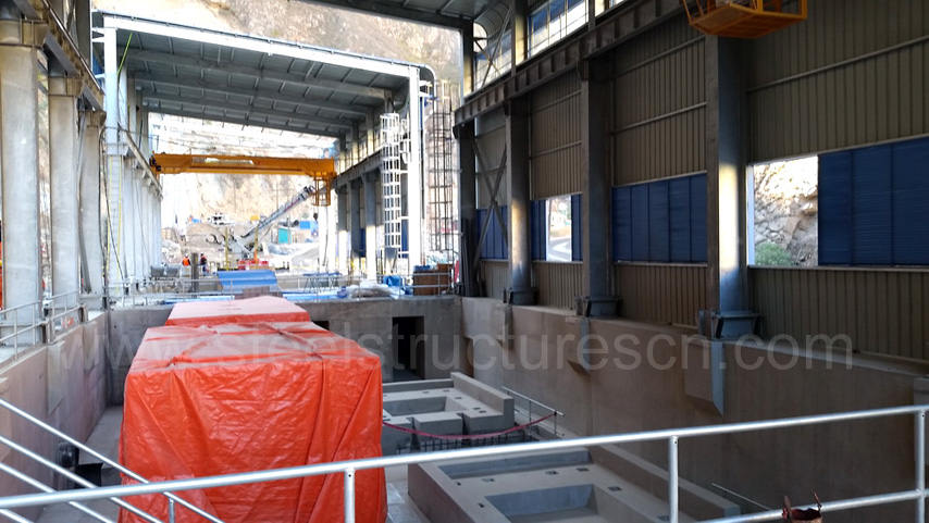 Peru steel building project for Hydropower station