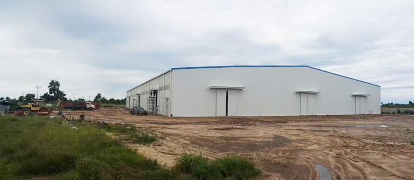 Bolivia Project - Prefabricated Steel Structure Workshop Building
