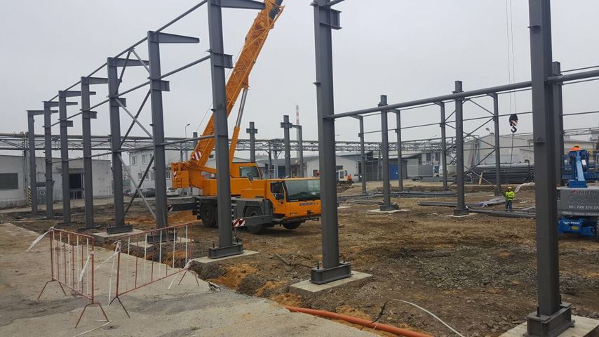 Construction Steel Frame Structure