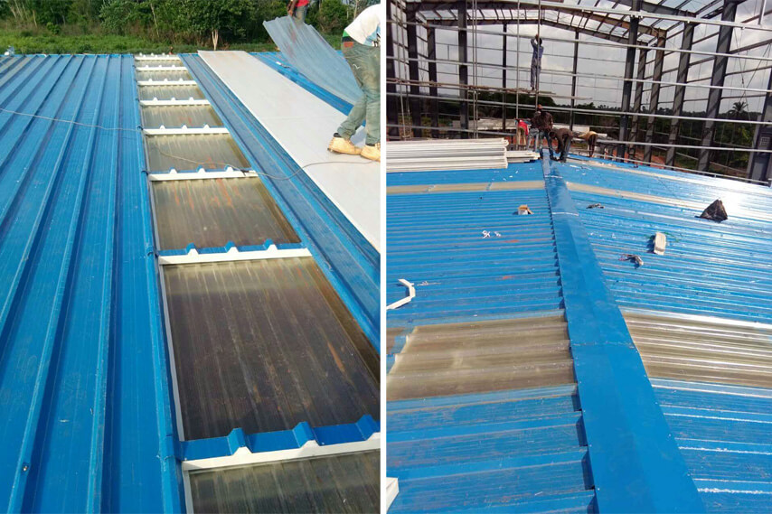 Steel Structure Plant Roof