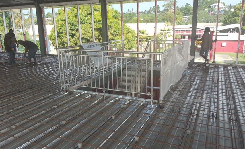 Steel Structure office Building floor material