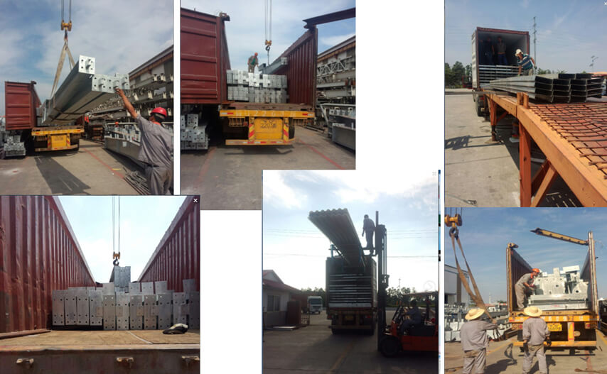 Saudi Arabia steel structure plant project delivery