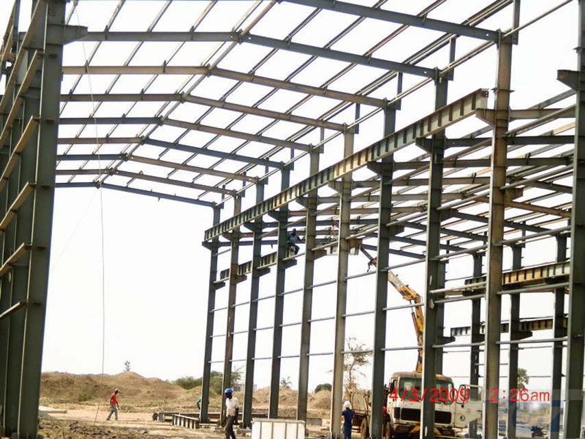 Senegal steel workshop project