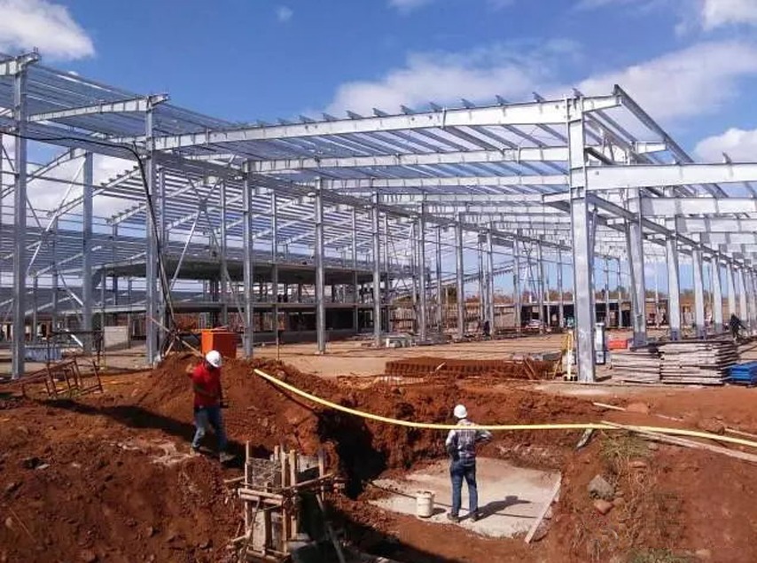 Mauritius Project - Prefab Steel Factory Building