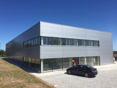1000 Square Meter Steel Office Warehouse Building