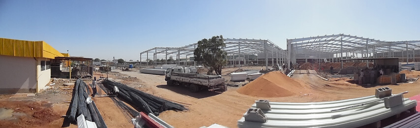 Steel Structure Frame of Warehouse Building