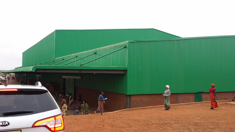 Malawi Prefabricated steel warehouse