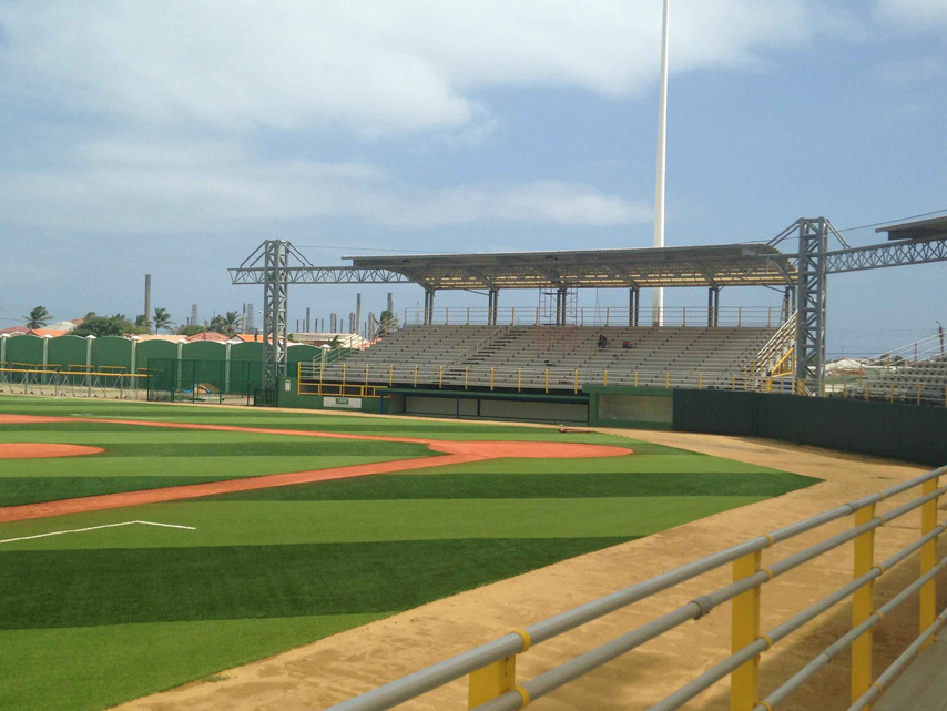 Steel Structure Stadium Project in Aruba