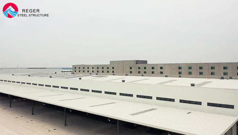 Qingdao New Airport International Express Management Center Warehouse Project Finished