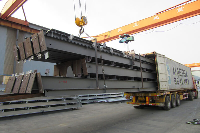 Packaging of Main Steel Structure Framing