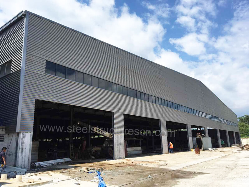 Panama Steel Structure Warehouse Project (1)
