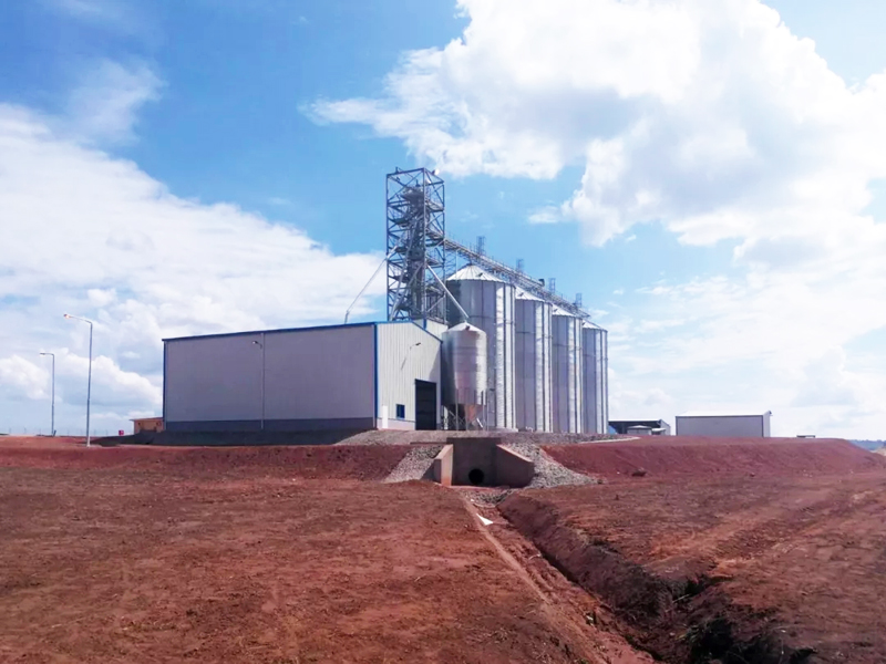 Steel Structure Corn Milling Plant