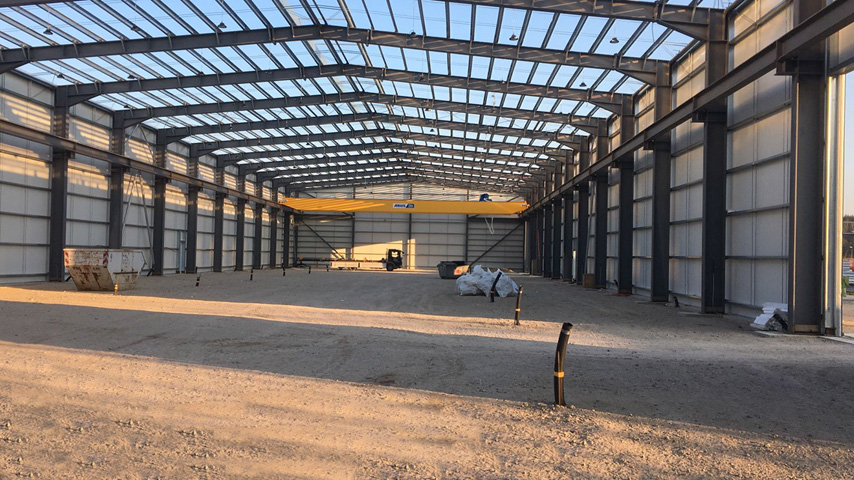 Prefabricated Steel Structure Workshop to Germany 1