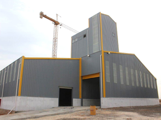 Steel Structure Feed Mill Plant