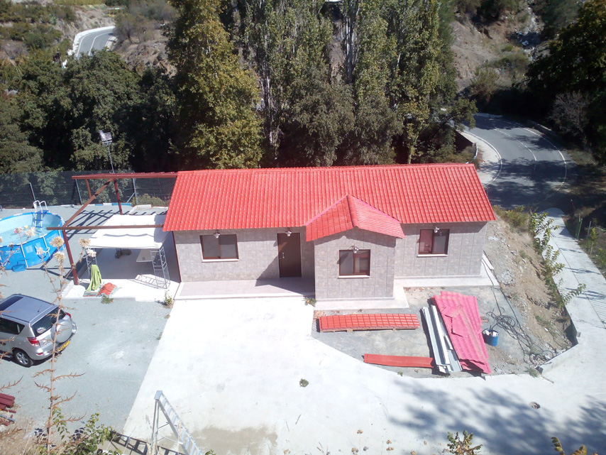 Cyprus Project - Low Cost Prefabricated House