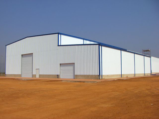 Prefab Metal Warehouse Building