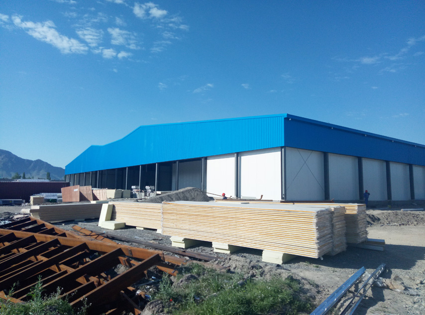 Uzbekistan Project - Steel Structure Cold Storage Warehouse